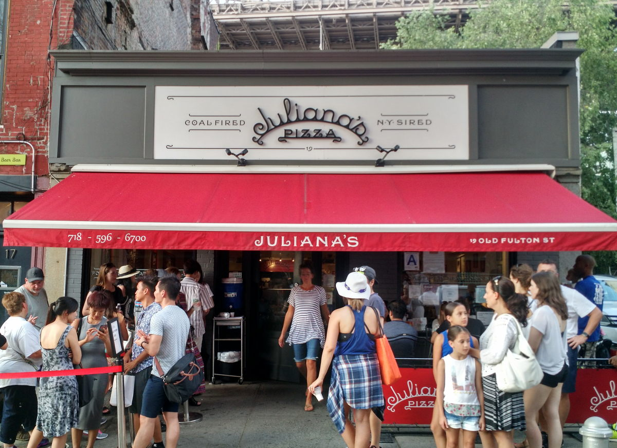 Juliana's Pizza Storefront
